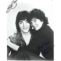 Scott Baio & Erin Moran 8x10 Autographed Photo