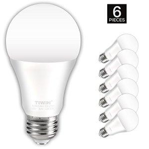 TIWIN A19 E26 LED Light Bulbs 11w ( 100 Watt Equivalent ) ,1100lm, CRI80+, General Purpose LED Bulb, UL Listed