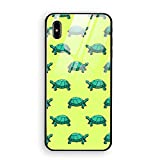 Phone X Case with Phone stents, Sea Turtles Luxury Phone Case for Phone X Ultra Thin Slim Back Cover Case