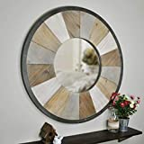 FirsTime & Co. Adler Rustic Wood Mirror, 31.5', Natural