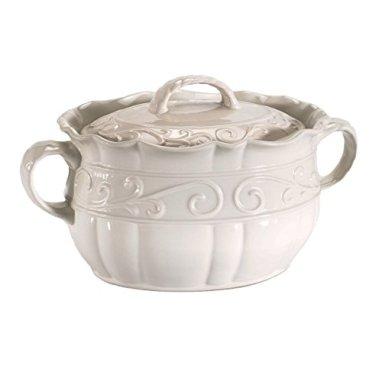 Celebrating-Home-Veranda-Home-Bean-Pot-stoneware-casserole-dish-oven-microwave-dishwasher-safe