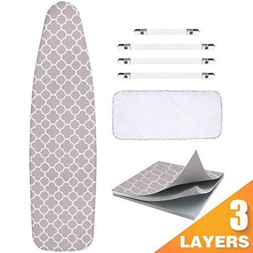 Sunkloof Ironing Board Cover and Pad Resists...