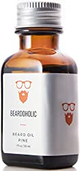 BEARDOHOLIC Premium Quality Beard Oil and Leave-in Conditioner, Softener, Pure Organic Natural, Pine Scented, Promotes Beard Growth and Stops Itchiness  Image 3