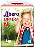 Diapers Libero Up & Go Cut 7 (16-26 kg) 18 pieces