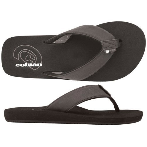 Cobian Men's Floater Flip-Flop Black 10 M US