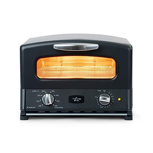 Sengoku-SET-G16AK-HeatMate-Toaster-Oven-120-volt-Black
