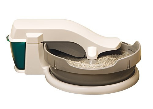 PetSafe Simply Clean Self-Cleaning Cat Litter Box, Automatic, Works with Clumping Cat Litter