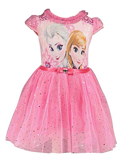 Elsa Princess Mesh Bubble Dress