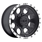 Mickey Thompson Classic Baja Lock Matte Black Wheel with Machined Finish (17x9