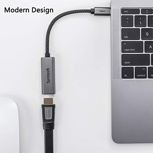 41SiJAPqN7L - USB C to HDMI Adapter, Syntech Thunderbolt 3 to HDMI Adapter Compatible with MacBook Pro 2019/2018/2017, MacBook Air, iPad Pro 2018,Samsung Galaxy S10/S9,Dell XPS 13/15 and More