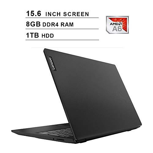 2020-Premium-Lenovo-IdeaPad-S145-156-Inch-Laptop-AMD-APU-A6-9225-up-to-30-GHz-AMD-Radeon-R4-8GB-DDR4-RAM-1TB-HDD-WiFi-Bluetooth-HDMI-Webcam-Windows-10-Home-Black