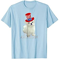 Patriotic Maltese Pupy Lover Tshirt Proud American Flag Hat