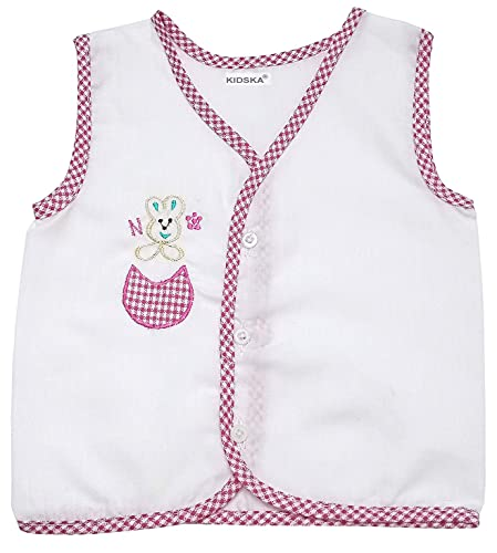 41SkfF2aUeS KIDSKA® New child Child Cotton Jhabla New child Child Costume for Child (zero To six Months)