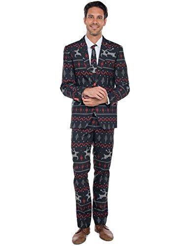 tipsy elves rage deer christmas suit ugly christmas sweater party suit ugly sweaters - Christmas Sweater Suit