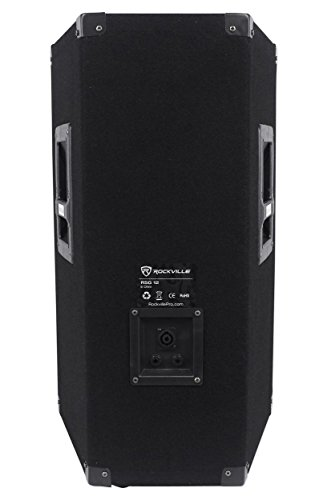 2-Rockville-RSG12-12-3-Way-1000-Watt-8-Ohm-Passive-DJPro-Audio-PA-Speaker