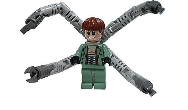 Amazon Com Lego Spider Man 2 Dr Octopus Doc Ock 2 Figure Toys Games