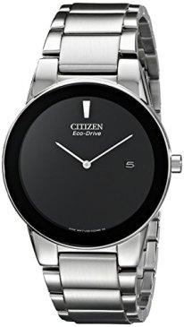 Citizen Axiom Eco-Drive Movement Black Dial Men's Watch AU1060-51E