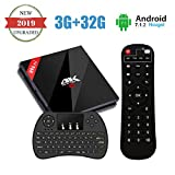 H96 Pro+ TV Box Android 7.1 OS 3G DDR3 32G EMMC Smart TV Box 4K HD Amlogic S912 Octa-core BT4.1 Dual Band 2.4G/5.8G WIFI Ethernet 1000M with Wireless Keyboard