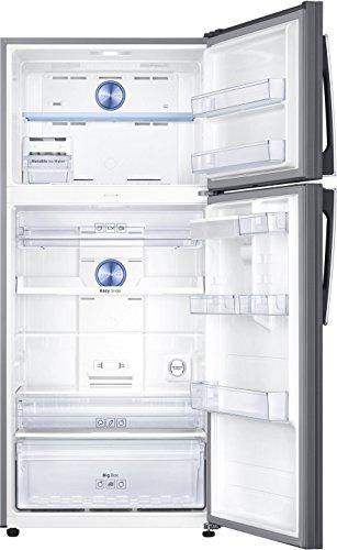 Samsung 523 L 3 Star ( 2019 ) Frost Free Double Door Refrigerator(RT54K6558SL/TL, Silver, Convertible)