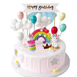 iZoeL Unicorn Cake Topper