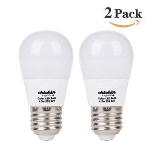 Chichinlighting 2-pack low voltage bulbs 12v led e26 led bulbs 5w led 12v bulb Soft White 3000K light bulb 40w Equivalent