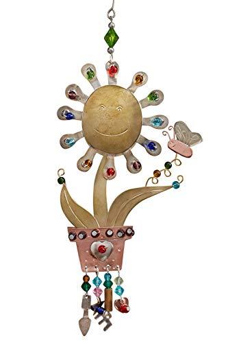 Pilgrim Imports Fair Trade Happy Flower Ornament