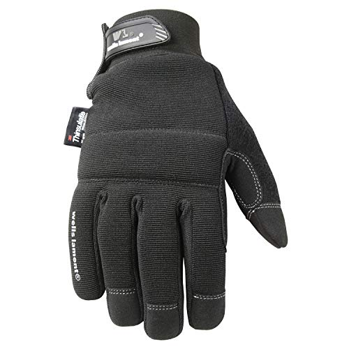 Wells Lamont Touchscreen Winter Gloves with Thinsulate Insulation, Large (7760L)