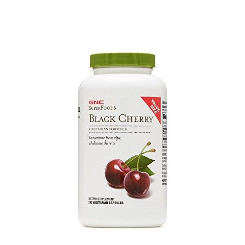 GNC SuperFoods Black Cherry, 240 Capsules