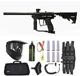 Spyder MR100 Pro Paintball Marker Gun 3Skull Sniper Set