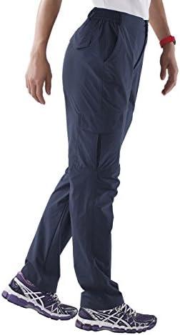 Nonwe Women's Outdoor Water-Resistant Quick Drying Lightweight Cargo Pants 3