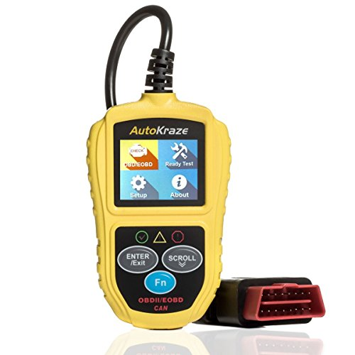 OBD2 Scanner - Car Engine Fault Code Reader   NEW 2019 design - Newest Version - CAN Diagnostic Scanner - Clears Trouble Codes to Save You Money   Vehicles of any Brand   Reliable Durable Easy to Use