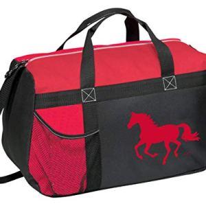 Awst Equestrian Horse Helmet Travel Duffle (Red)