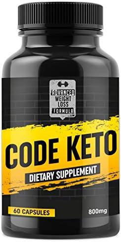 Keto Diet Pills - Best Ketosis Supplement for Women and Men - Code Keto - 60 Capsules 3