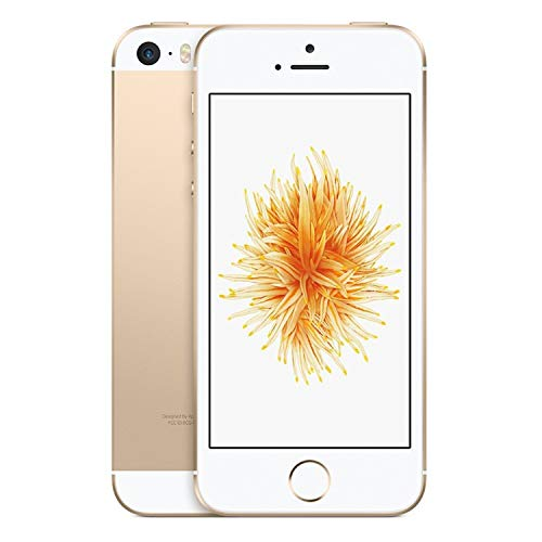 Apple iPhone SE, GSM Unlocked, 16GB - Gold (Renewed)