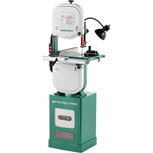 "Grizzly Industrial G0555X - 14"" 1-1/2 HP Extreme Series Bandsaw"