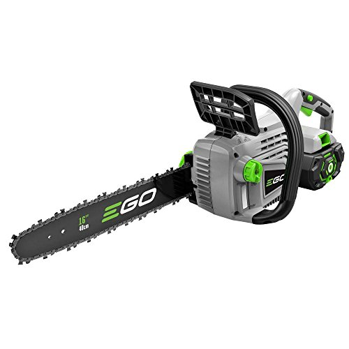 EGO 16 in. CS1604 56-Volt Lithium-ion Cordless Chainsaw with 5.0Ah Battery and Charger Included