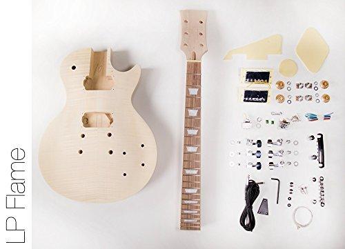 DIY Electric Guitar Kit LP Style Build Your Own Guitar Kit
