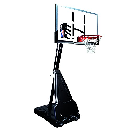 Spalding NBA Portable Basketball System - 60' Acrylic Backboard