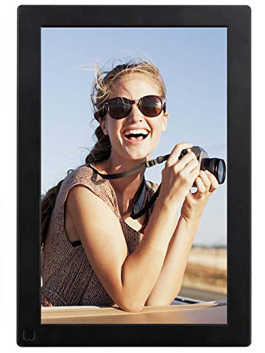 BSIMB Digital Picture Frame Digital Photo Frame 10.1 Inch IPS Display 1280x800 Hi-Res 8GB Storage Photo & HD Video Frame with Motion Sensor/Auto Rotate/Music&Video Playback/Infrared Remote Control M10