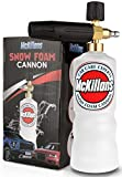 McKillans Foam Cannon Professional Grade Adjustable Lance Pressure Washer Jet Wash with 1/4' Quick Connector