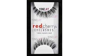 Red Cherry False Eyelashes #523 (Pack of 3 Pairs)