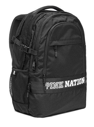VICTORIA SECRET PINK NATION BACK PACK BACKPACK BLACK