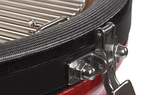 Kamado-Joe-KJ23NRHC-Classic-II-Stand-Alone-Grill-Blaze-Red-18-inch