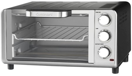 Cuisinart Compact Toaster Oven Broiler with Bake, Broil, Toast and Keep Warm Features TOB-80N