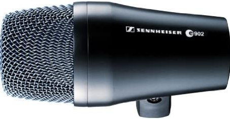 Sennheiser e902 Cardioid Dynamic Mic for Kick Drum