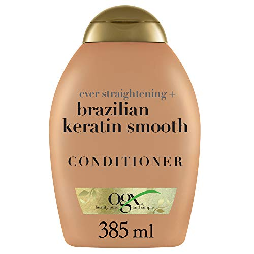 Ogx Conditioner Brazilian Keratin Therapy 13 Ounce (384ml) (3 Pack)