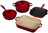 Le Creuset Cookware Red