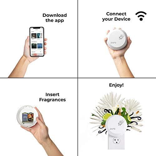 Pura Smart Home Fragrance Device Bundle (Pacific Aqua and Simply Lavender)