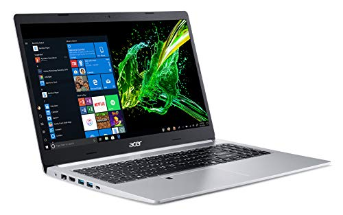 Acer Aspire 5, 15.6' Full HD IPS Display, 8th Gen Intel Core i5-8265U, 8GB DDR4, 256GB PCIe NVMe SSD, Backlit Keyboard, Fingerprint Reader, Windows 10 Home, A515-54-51DJ