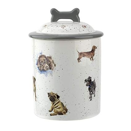 Portmeirion-Home-Gifts-WN4096-XL-Dog-Treat-jar-Ceramic